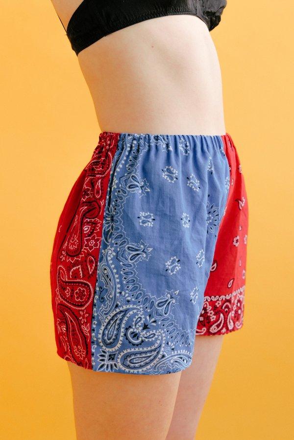 WOLF & GYPSY VINTAGE Ivan Bandana Boxer Shorts