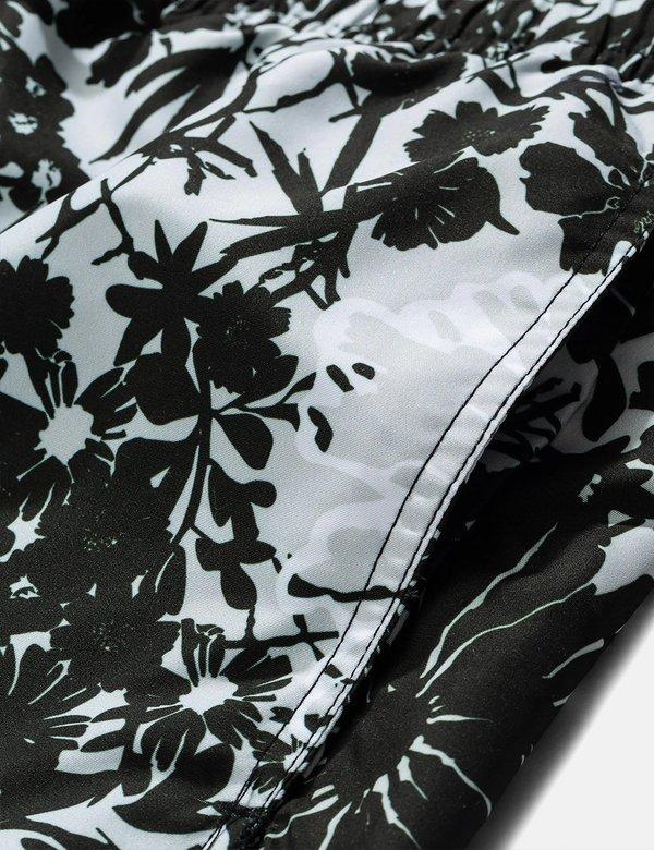 Norse Projects Hauge Flower Print Swim Shorts - Glacier Grey