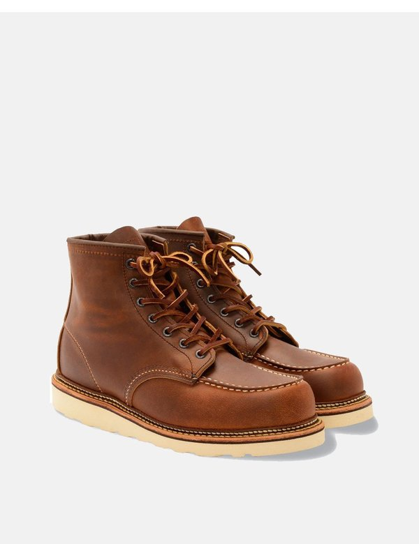 Red Wing Shoes Red Wing Heritage 6 Moc Toe Boots (1907) - Copper Rough/Tough Brown