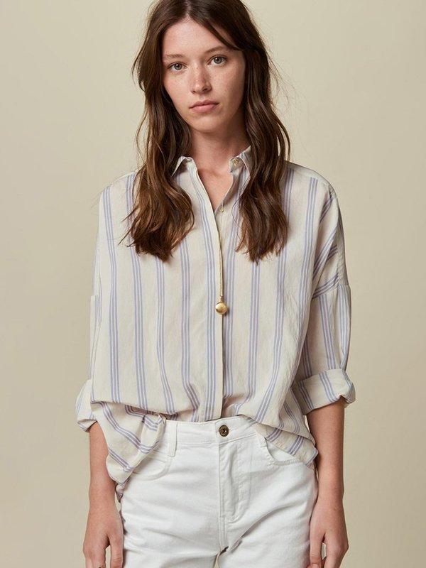 Sessun Darling Ma Stripe Shirt in Whiciel