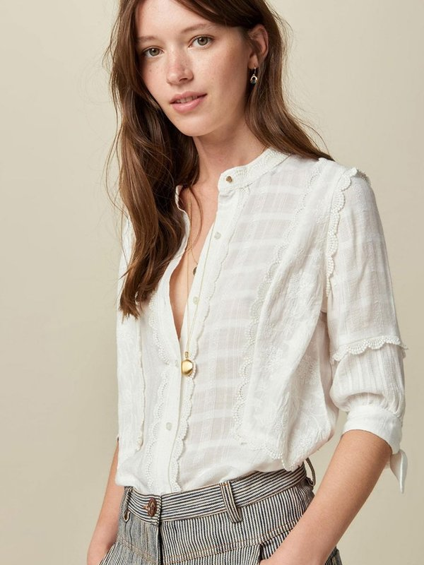 Sessun San Lorenzo Blouse - Cream