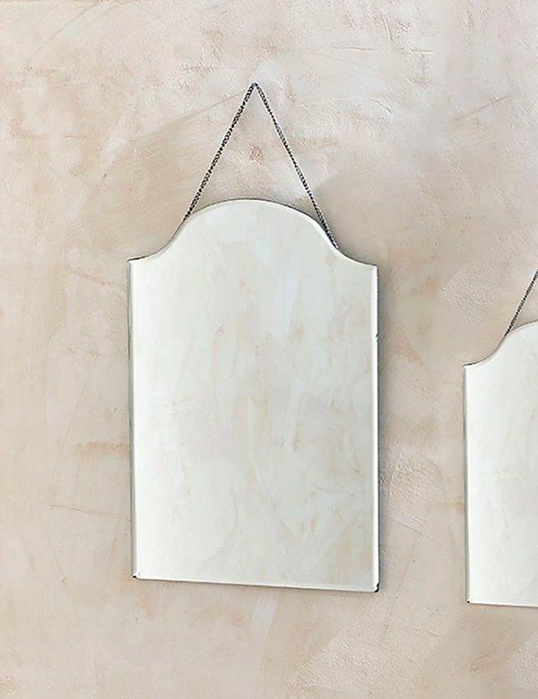 Nkuku Vintage Large Portrait Mirror - Glass