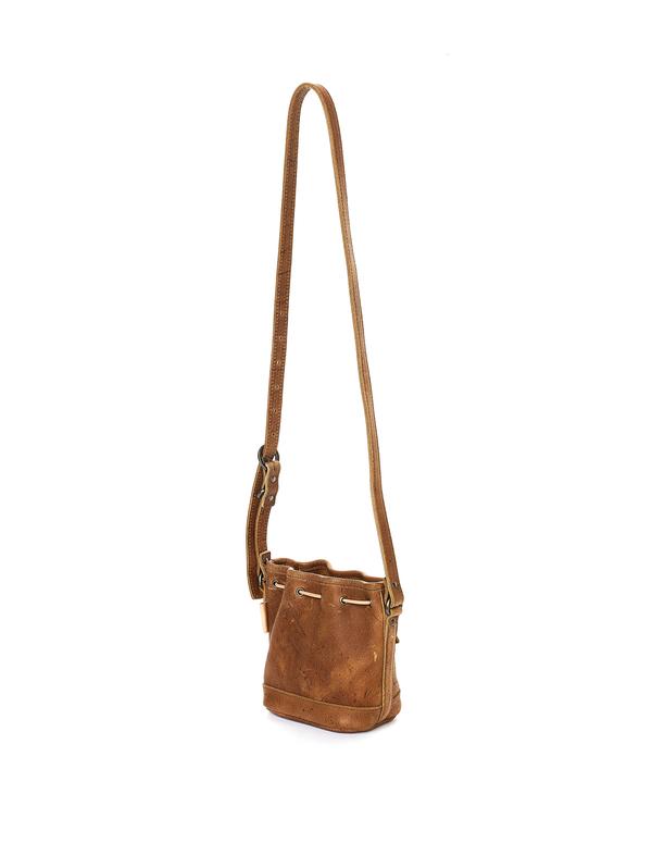 Hender Scheme Leather Bucket Bag - Brown