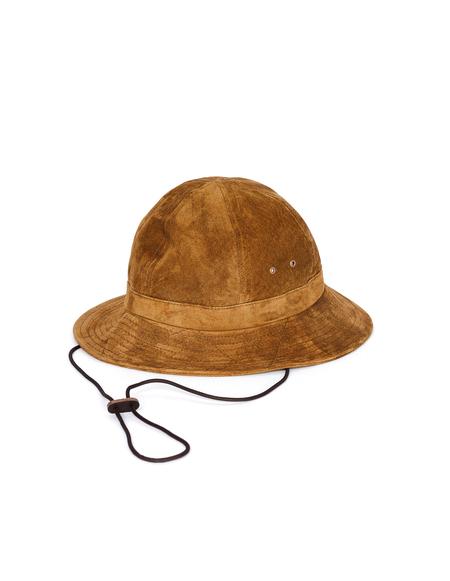 Hender Scheme Suede Field Hat - Brown
