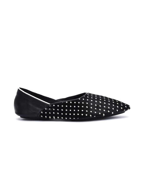 Haider Ackermann Leather Lunar Loafers - black