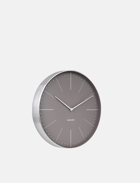 Article. Karlsson Wall Clock Normann Station - Warm Grey