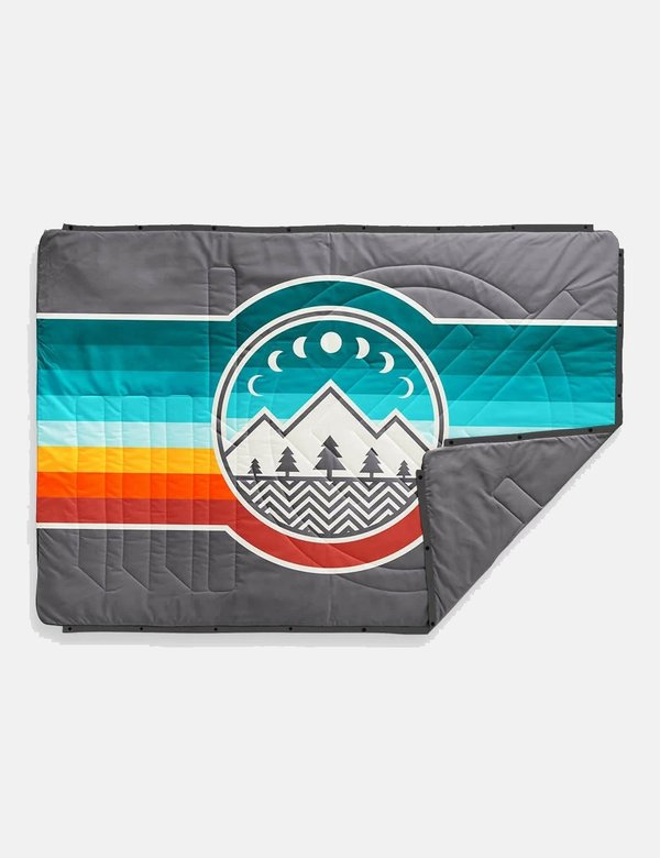 Voited Blankets Recycled Ripstop Outdoor Pillow Blanket - Camp Vibes