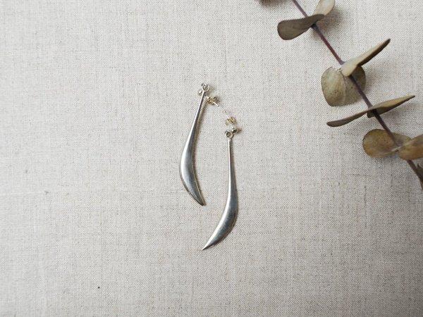 Luce & Me Long Earrings - silver