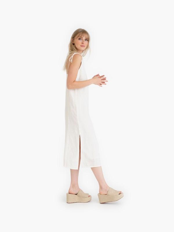 Tribe Alive Slip Dress - Ivory