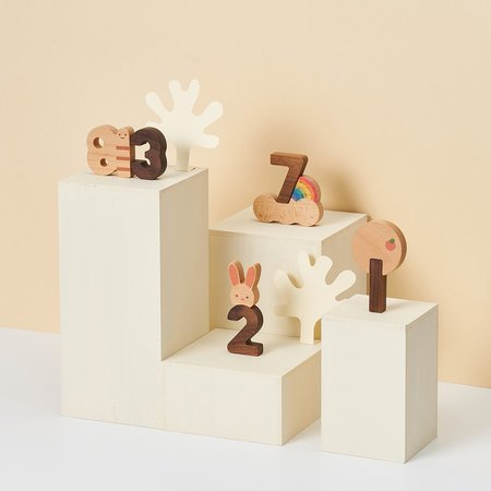 Shop Merci Milo Wooden Numbers Play Blocks