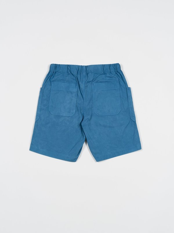 Arpenteur Cargo Shorts - Natural Woad Blue