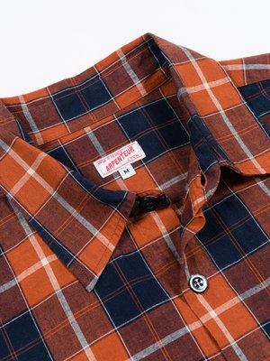 Arpenteur Doris Shirt - Orange Check