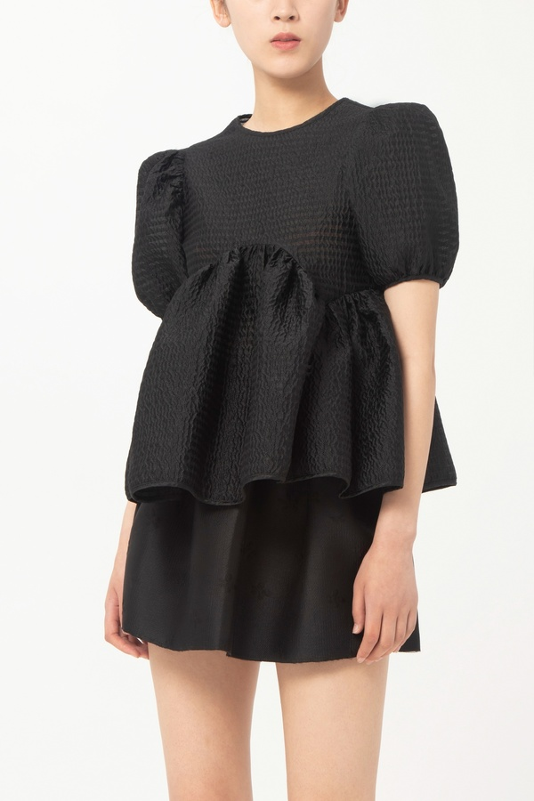 Cecilie Bahnsen OPEN BACK BLOUSE WITH PANELS