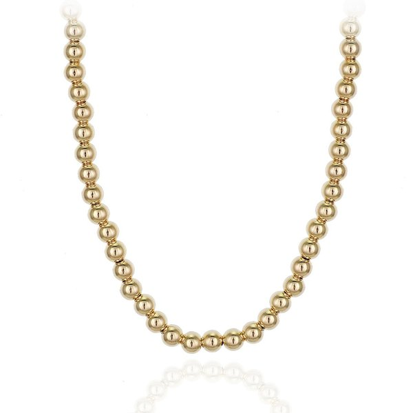 MRSCOOL.CLUB ball necklace 3mm - Gold Filled