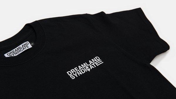 Moire T-Shirt black
