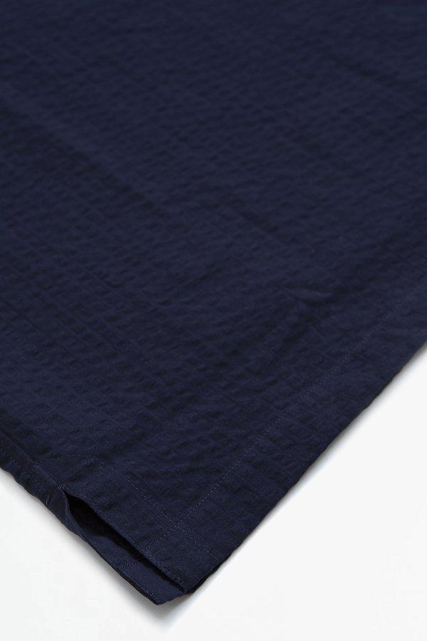 Officine Generale Yann popover shirt - navy