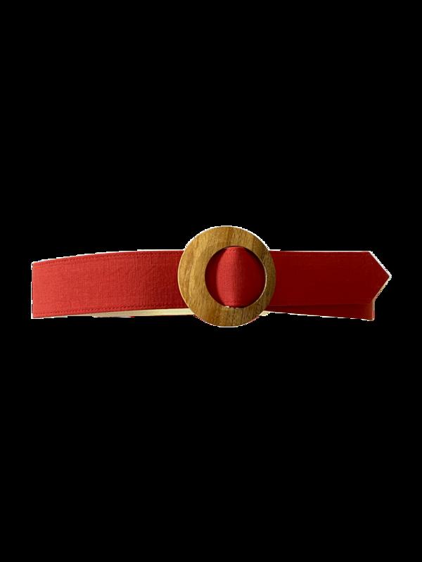 Christine Alcalay Extra wide belt - Cayenne