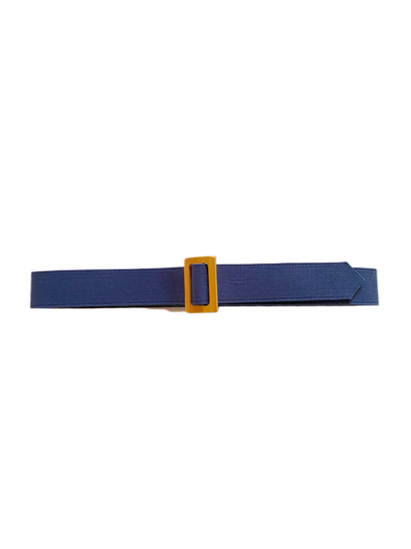 Christine Alcalay Medium width belt - midnight