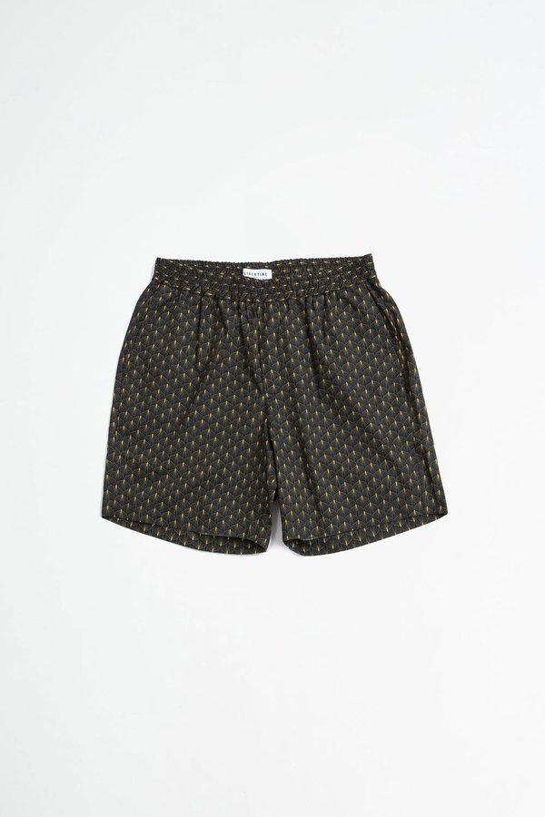 Libertine Libertine Front shorts - gold leaf