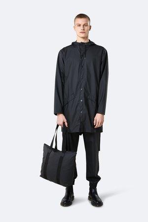 Rains Tote Bag - Rush Black