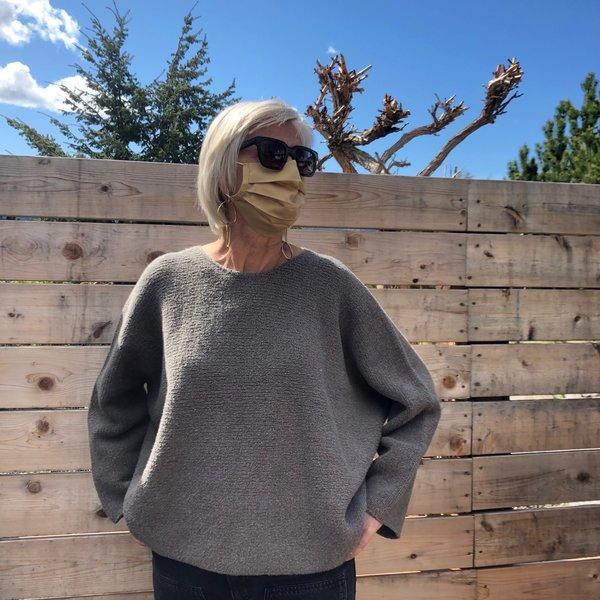 Lauren Manoogian Trapezoid Pullover - Granite
