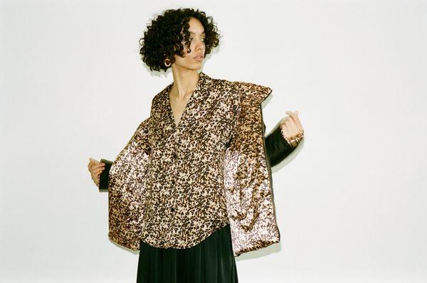 Wray Gina Shirt - Tortoiseshell