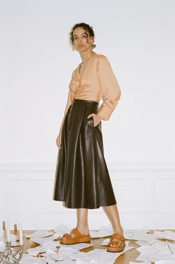 Wray Kelsy Skirt - Dark Chocolate