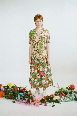 Wray Lulu Skirt - Acid Floral