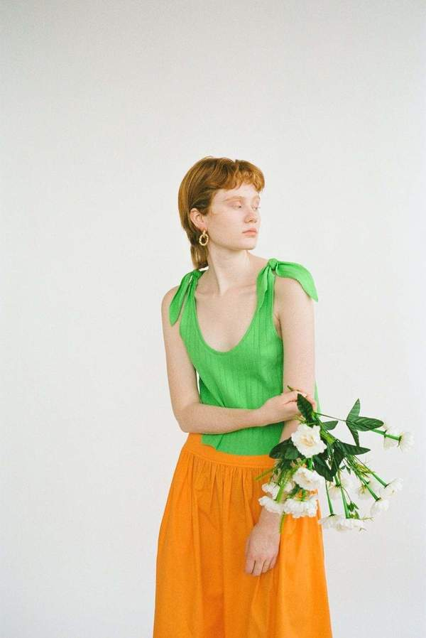Wray Lulu Skirt - carrot