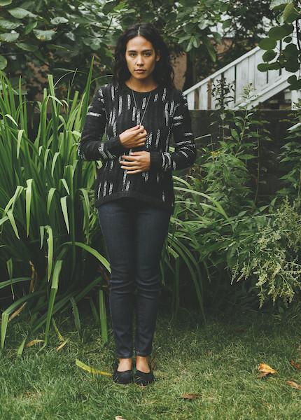 Line Knitwear - Becca in Waterfall