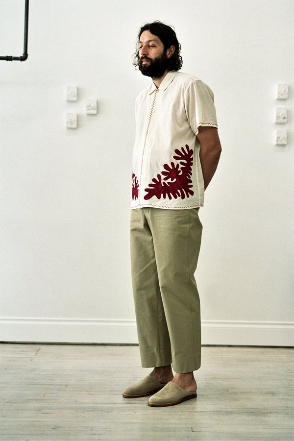 BODE Workwear Cotton Trousers - British Khaki
