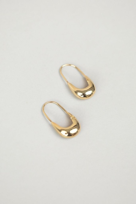 Wolf Circus Marta Gold Earrings - 14k gold plated