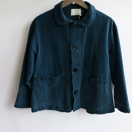 [Pre-loved] Olderbrother Blue Cotton Jacket - Blue