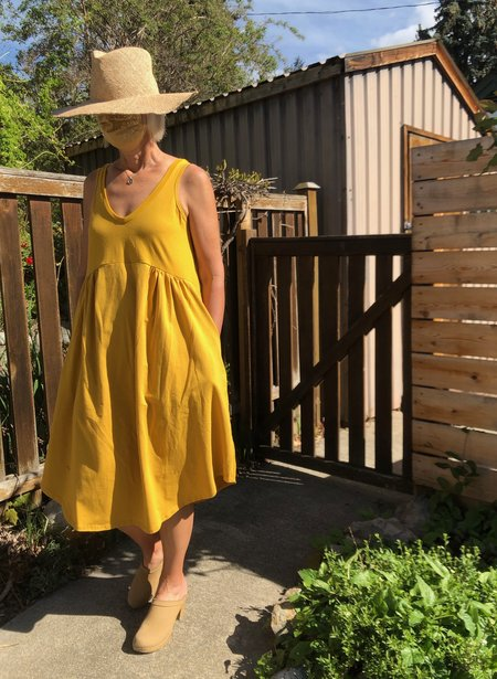 Pillar Marseille Dress - Golden