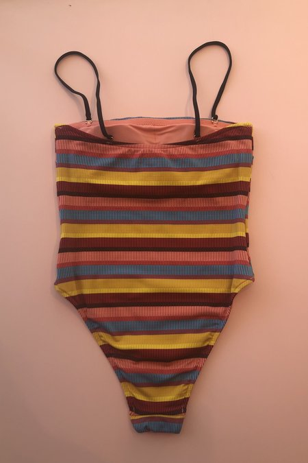 Seafolly Tube Maillot - Baja Stripe