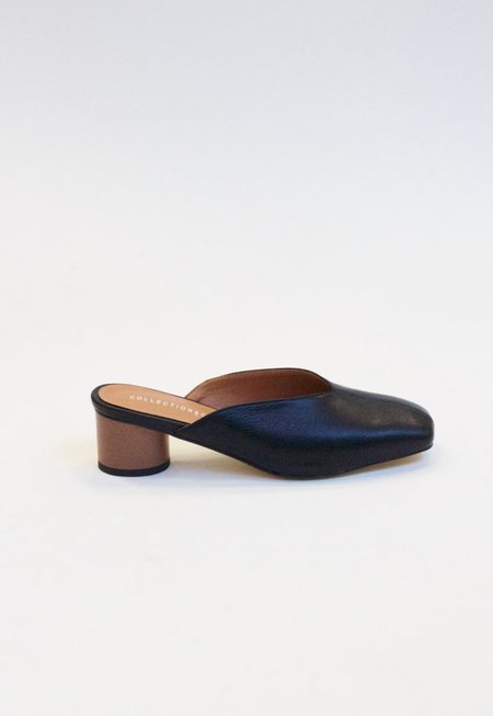 Collection and Co Kika Mules - Black