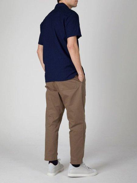 Oliver Spencer Yarmouth Shirt - Kildale Indigo Rinse