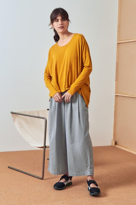 Kowtow Building Block Drape Top - Sun