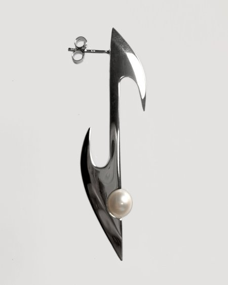 Austin James Smith Pearl Axis Single Earring - Sterling silver