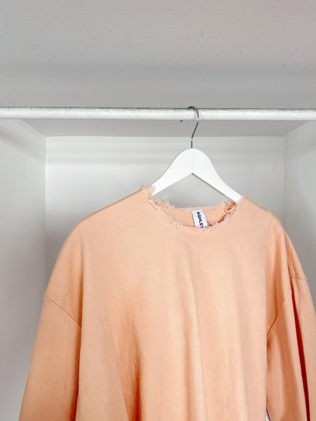 Ashley Rowe Long Sleeve Tee - Peach