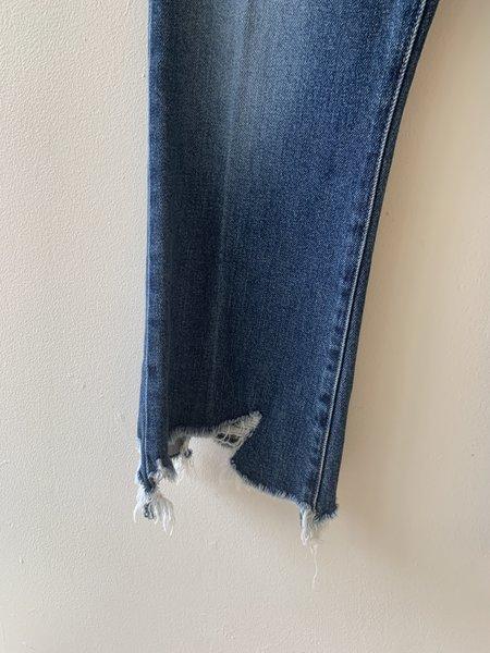 Pre-loved J Brand Julia High Rise Crop Flare Jean - Blue