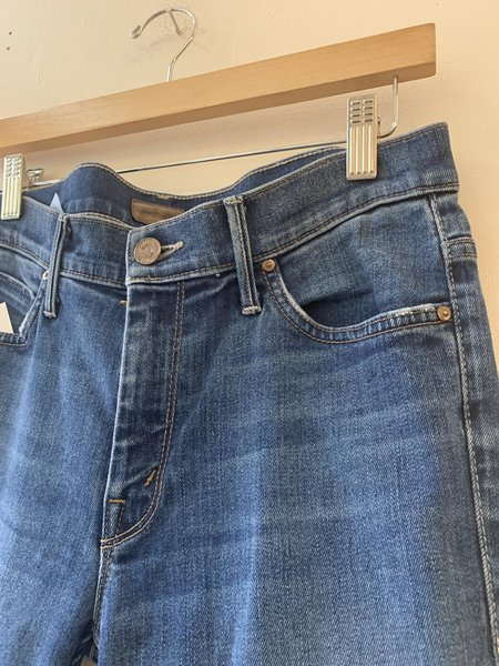 Pre-loved Mother Denim The Muse Ankle Skinny Jeans