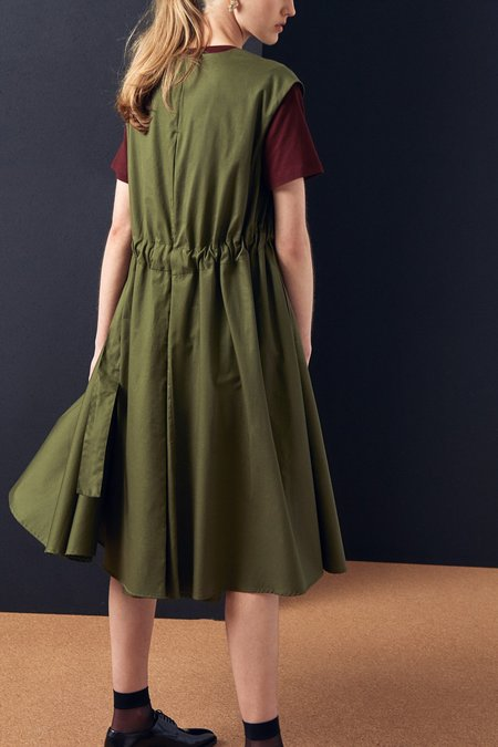 Kowtow Notebook Dress - Moss