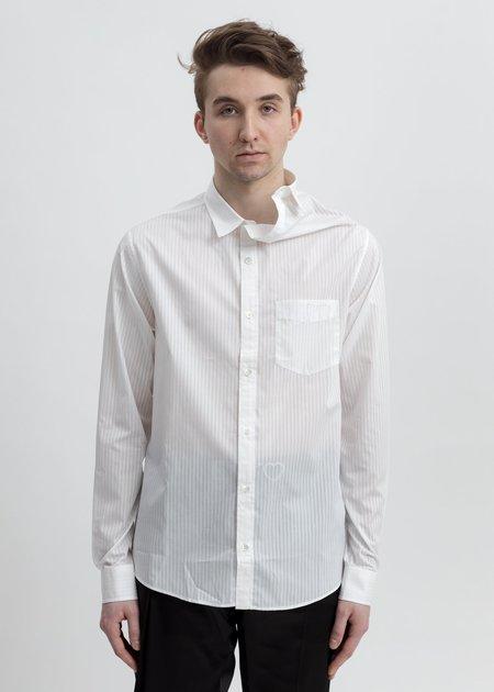 Y/project Asymmetric Collar Shirt - White