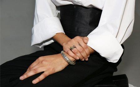Kindred Black Bobina Cuff - sterling silver