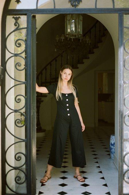 Lisa Says Gah Rita Jumpsuit - Black