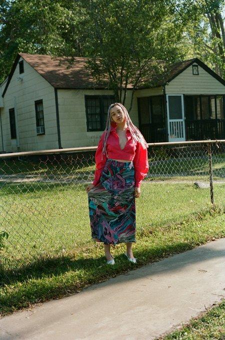 Tyler McGillivary Celia Skirt - Granite