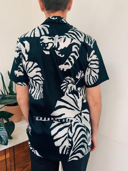 Double Rainbouu Nightcrawler Hawaiian Shirt - Black