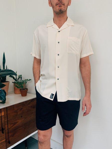 Double Rainbouu Great and Small Hawaiian Shirt - Cream