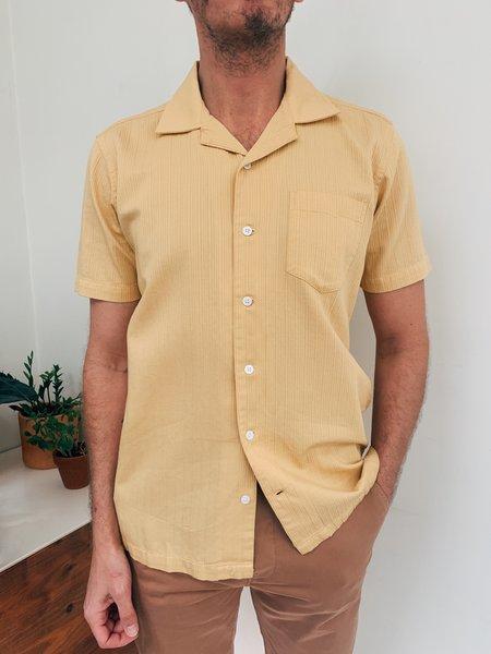 Far Afield Stachio S/S Shirt - Gold